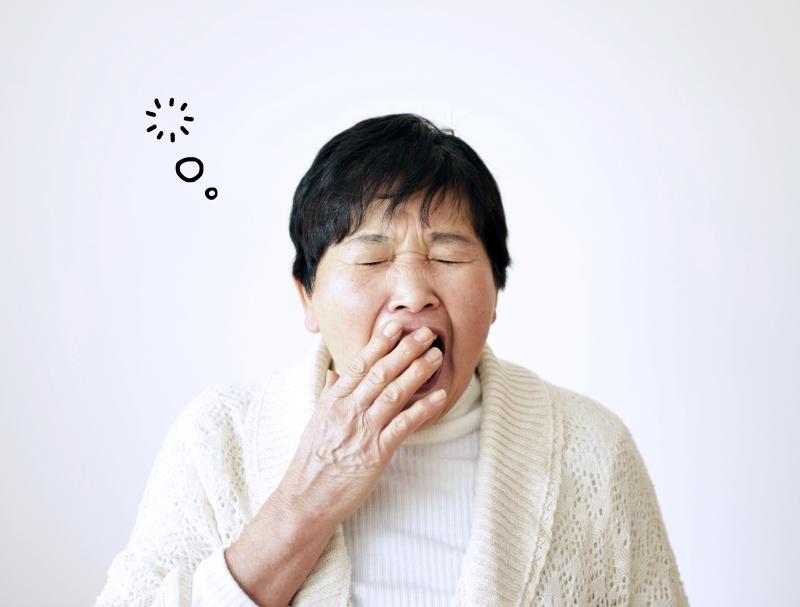 【傾眠・傾眠傾向とは】症状や原因、介護士が気を付けること