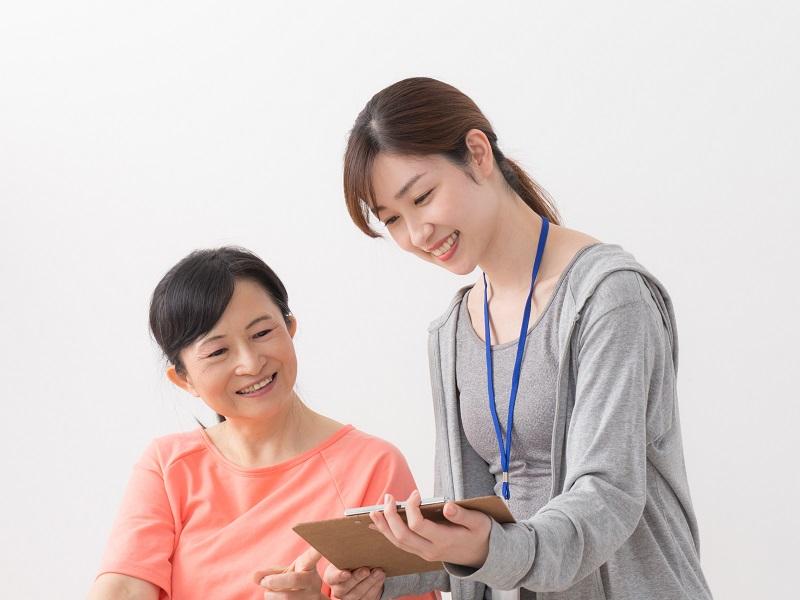 介護職の女性のイメージ