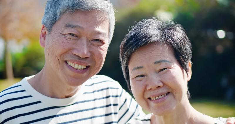 高齢者の健康寿命イメージ