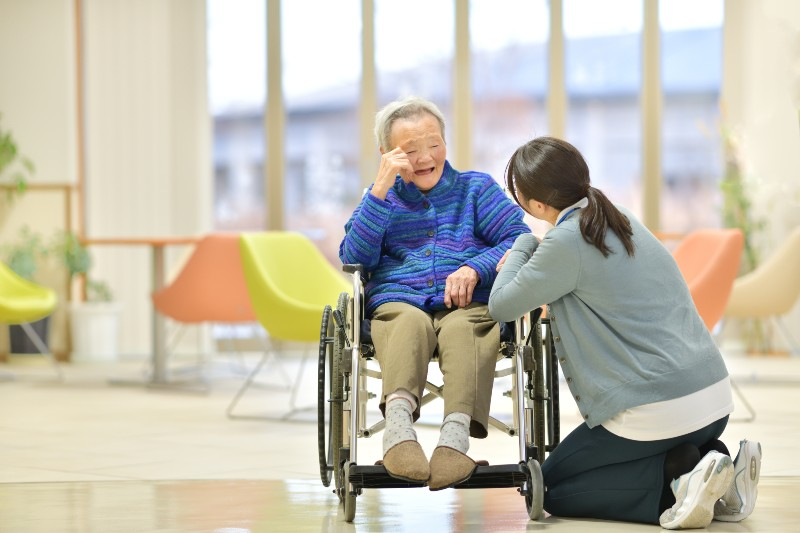 TOP高齢者の健康管理や介護業務の効率化を図る企業